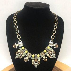 J Crew Jeweled Statement Collar Necklace